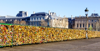 http://www.dreamstime.com/stock-photo-pont-des-arts-bridge-paris-france-th-march-paris-buildings-background-image39068690