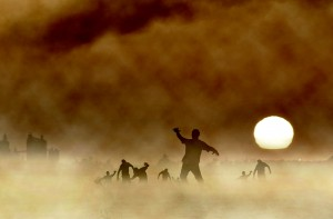 http://www.dreamstime.com/stock-images-zombies-dawn-approaching-misty-desert-image44388834