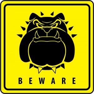 dreamstime_s_34425251 bulldog warning