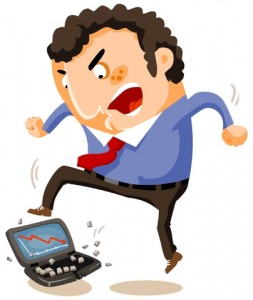 http://www.dreamstime.com/stock-photography-breaking-laptop-huge-stress-image17289892